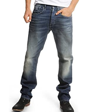 G-Star Structor Straight Aged Wash Jeans Spike Denim Straight Leg Loose Fit