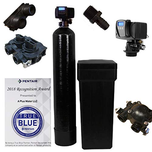 - Fleck 5600SXT 64,000 Grain Water Softener Digital SXT Metered Whole House System