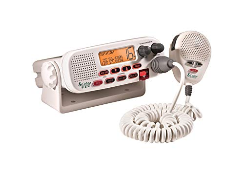 Corporation Lcd - Cobra Electronics Corporation 4 Cobra Electronics MR F57W Radio Marine Vhf Mr-F57W White
