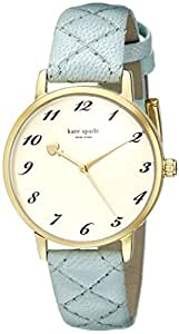 kate spade new york Women's 1YRU0786 Metro Analog Display Japanese Quartz Blue Watch