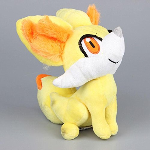 Costume Bambi Ears (TONGROU Plush Fennekin Fire Fox Soft Toy Stuffed Animal Cuddly Doll Teddy 9