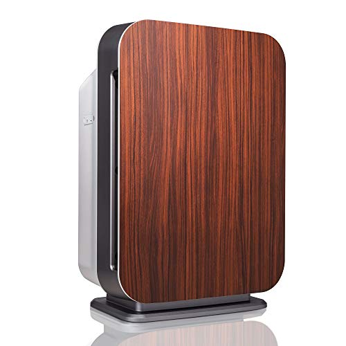 Alen BreatheSmart 75i Large Room Air Purifier, 1300 Sqft. Coverage Area, Antimicrobial True HEPA Filter, for Pet Odor, Dander, Fur, Allergies, Dust, Pollen, Mold, and Bacteria, Rosewood