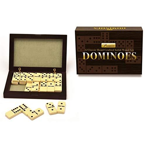 New Entertainment 1055 Premier Dominoes, Multicolor
