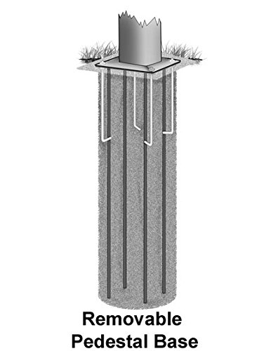 Bison Four Seasons Removable Adjustable Basketball Hoop by Bison (Image #1)