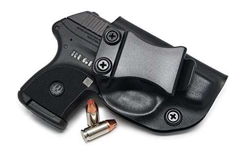 Concealment Express IWB KYDEX Holster: fits Ruger LCP - Custom Fit - US Made - Inside Waistband - Adj. Cant/Retention (BLK, Right)