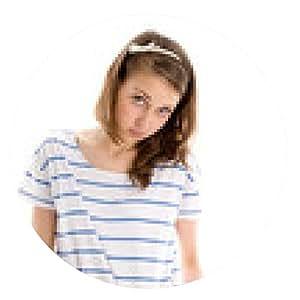 alfombrilla de ratón Adolescente - ronda - 20cm