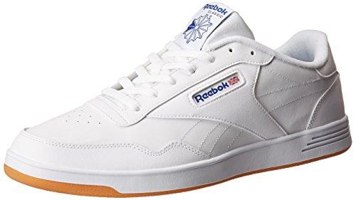 Reebok Mens Club Memt Classic Sneaker White / Collegiale Royal