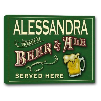 alessandra-beer-ale-stretched-canvas-sign-16-x-20