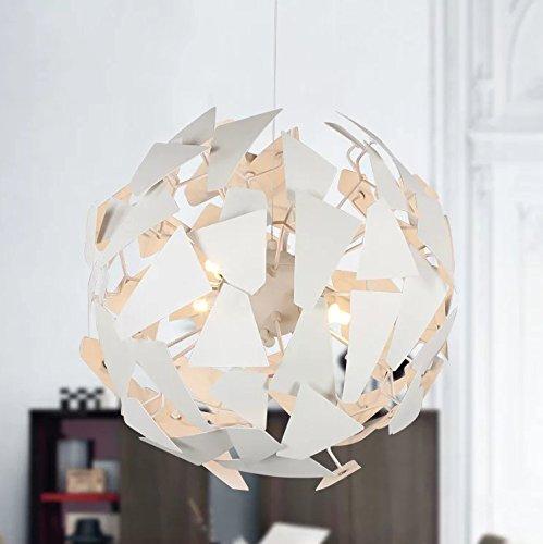 SEOL-LIGHT Modern Smartness Creative DIY Designer Pendant light with 12 light,Max 36W White Metal Fixture BULB INCLUDED for Dinning Table,Bedroom,Living Room,Hallway