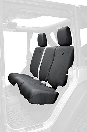 (Bestop 29284-35 Black Diamond Rear Seat Cover for 2007 & 2013-2018 Jeep Wrangler Unlimited)