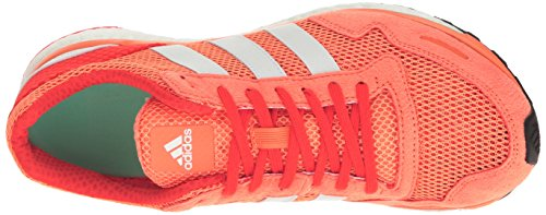 Adios Running Glow Us 6 shock Shoes white White Yellow Sun M Adizero Adidas Orange 3 Red 5YgWPOptwq