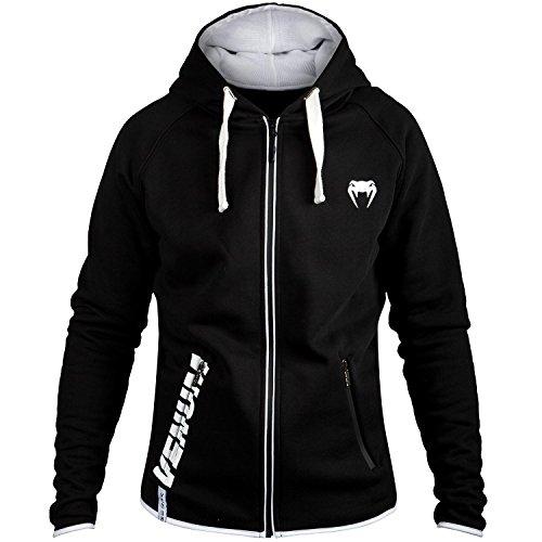 Venum Contender 2.0 Hoodie - Black/White - Small
