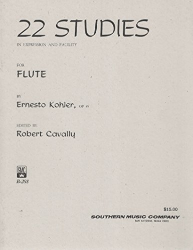 22 Studies in Expression and Facility for Flute