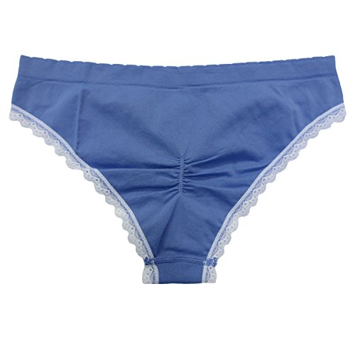 Coobie Seamless Cheeky Panties (One Size, Periwinkle)