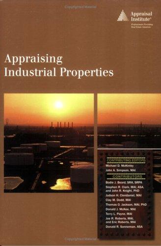 Appraising Industrial Properties