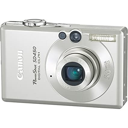 amazon com canon powershot sd450 5mp digital elph camera with 3x rh amazon com