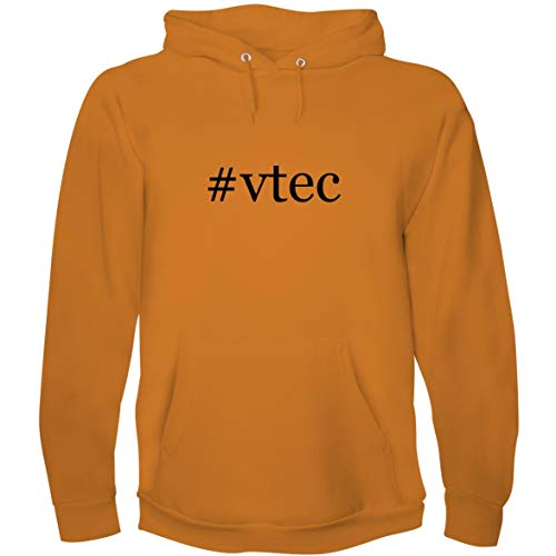 (The Town Butler #VTEC - Men's Hoodie Sweatshirt, Gold, XX-Large)