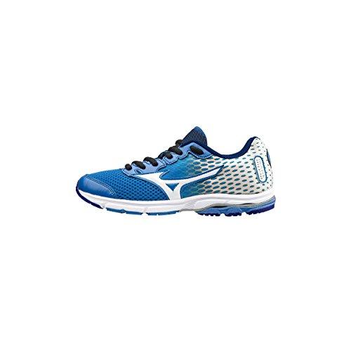 Para Junior Zapatillas Correr Azul Mizuno Rider Wave 18 qgtxXAw