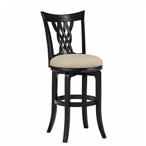 Hillsdale Furniture 4808-832 Embassy Swivel Bar Stool, (Back Spectator Stool)
