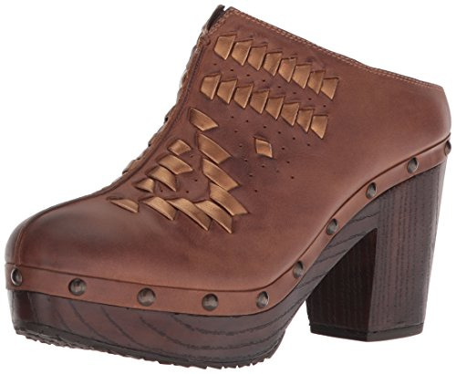 Ariat Women's Bria Western Boot, Bronze/Brown, 8 B US