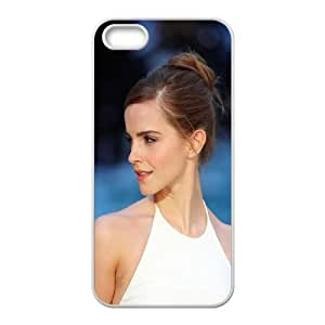 iPhone 5 5s Cell Phone Case White hb93 emma watson in white dress Ltmss