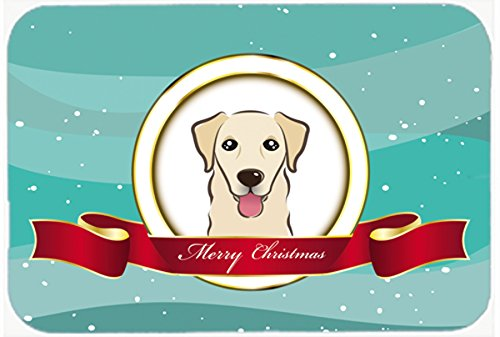 Golden Retriever Merry Christmas Kitchen or Bath Mat 20x30 B