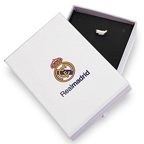 Pendentif Real Madrid chemise 9k or fin émailler Ronaldo 7 [6487] - Modèle: 0530-106