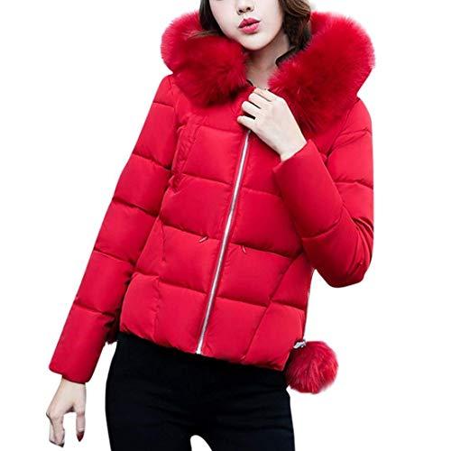 Outwear Monocromo Moda Calda Mantello Tasche Giacca Donne Rosso Con Piumini Giovane Invernali Lunga Anteriori Classiche Cappuccio Manica Cerniera Trapuntata Donna 7xP6FwqE