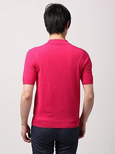 (ザ・スーツカンパニー) ウォッシャブル/WE SUIT YOU/コットンブレンド レギュラーカラーニットポロシャツ ピンク