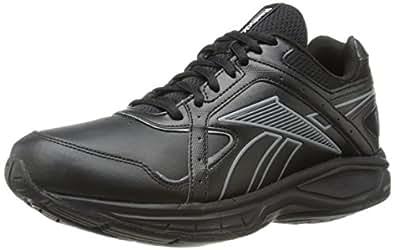 Reebok Women's DMX Max Select RS Walking Shoe,Black/Flat Grey,9.5 D US