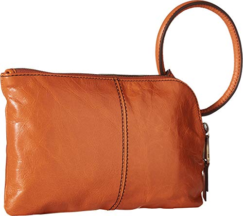 Hobo Women's Leather Sable Wristlet Clutch Wallet (Dusty Coral) by HOBO (Image #1)