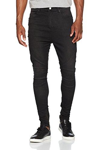 012 Religion Uomo Blade Nero Jeans Black washed Skinny Jean 8rzZ8w