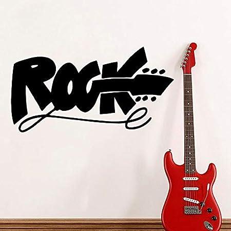 jiuyaomai Estudio de Música Moderno Tatuajes de Pared Cita Rock ...