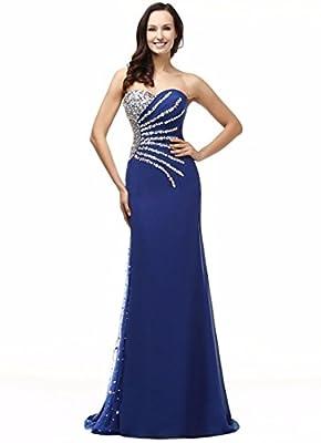 Shadi Bridal Sweetheart Mermaid Evening Dresses for Women Formal Long Prom Dresses Plus Size