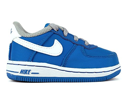 (Nike Air Force 1 Photo Blue/White-Wolf Grey (TD) 4 M US)