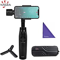 Moza MINI-MI Smartphone Gimbal Handheld Stabilizer with Wireless Phone Charging 360° Heading Axis Selfie Gimbal for iPhone X/8/8 Plus/7/7 Plus/6S/6S Plus/6/6 Plus
