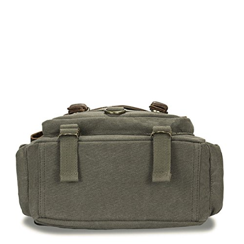Army Borse di Borse tela per Casual Fashion Students computer Satchel UpVqSzM