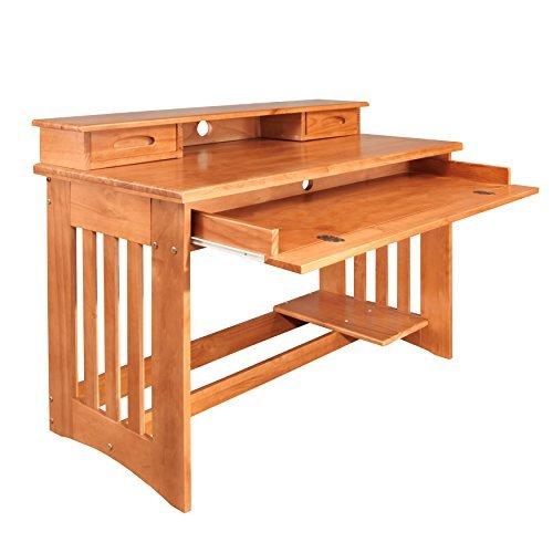 American Furniture Classics 2167DH Desk with Hutch by American Furniture Classics
