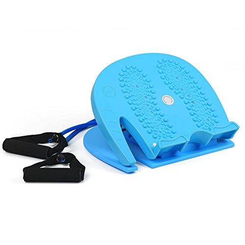CLAKION Calf Stretching Slant Board With Balance Support Strap, Portable And Adjustable Incline Boards (330 lb Capacity) by CLAKION