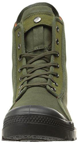 Palladium Hommes Pampa M65 Salut Botte De Combat Armée Vert