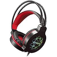 Snopy SN-GX7 CRAZY Siyah USB Ledli Mikrofonlu Oyuncu Kulaklığı