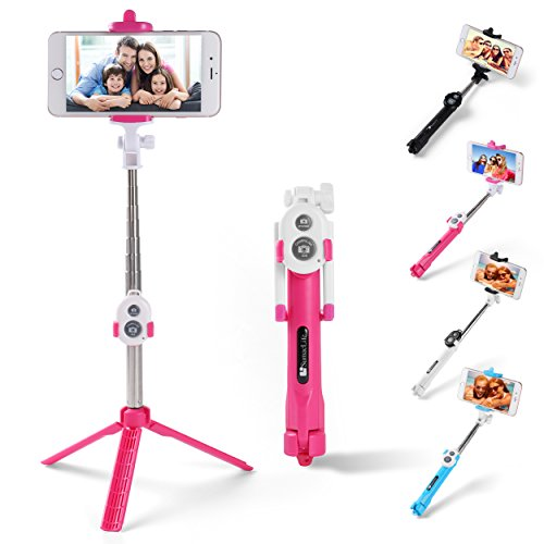 Sky Mobile Phone Holder and Monopod (Pink) - 1