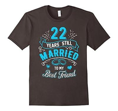 22nd Wedding Anniversary T-Shirt 22 years still Married 1995