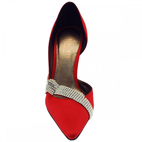 Zapatos mujer Rojo Rojo para de rojo vestir Magrit 1wpUqFAdq