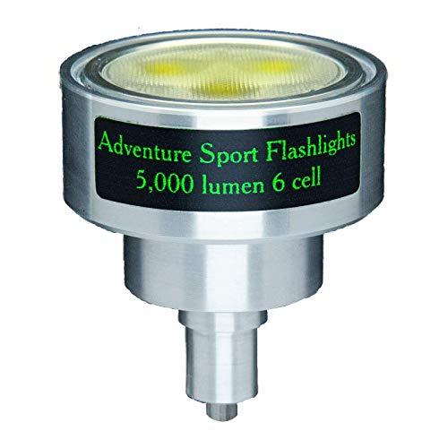 5000 Lumen 6 Cell LED Upgrade For Maglite Flashlight