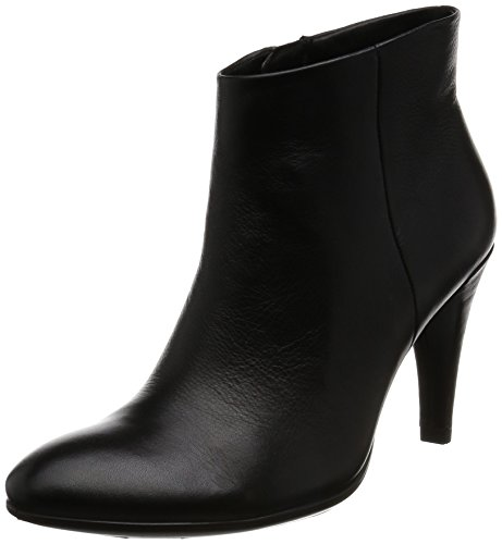 ECCO Women's Women's Shape 75 Sleek Ankle Boot, Black, 39 EU/8-8.5 M (Ecco Nubuck Boots)