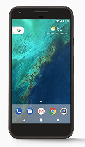 Google Pixel XL Phone 128GB - 5.5 inch display ( Factory Unlocked US Version ) (Quite Black)