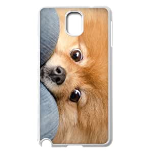 J-LV-F Customized Print Pomeranian Hard Skin Case Compatible For Samsung Galaxy Note 3 N9000