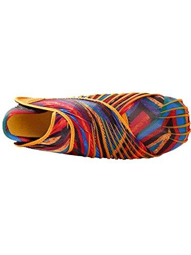 Schnellverschluss Laufschuhe Joggingschuhe cooshional Vielfarbig 45 36 mit Schuhe Herren Damen Yoga Größe Orange Zqw8E