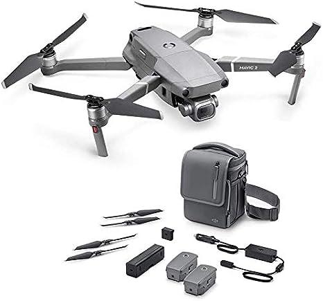 Opinión sobre DJI Mavic 2 Pro Drone + Fly More Combo - Kit de Accesorios Incluido con el Drone, 2 Baterías de Vuelo, Cargador para el Coche, Puerto de Carga, Adaptador de Batería a Batería Externa, Hélices, Bolsa